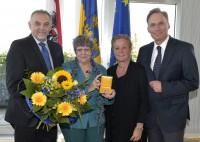 Rotraud A. Perner | Goldenes Ehrenkreuz NÖ | 2014