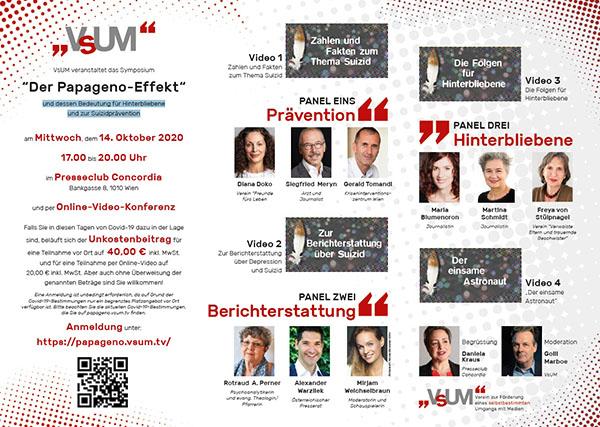 """Symposium """"Der Papageno-Effekt"""""""